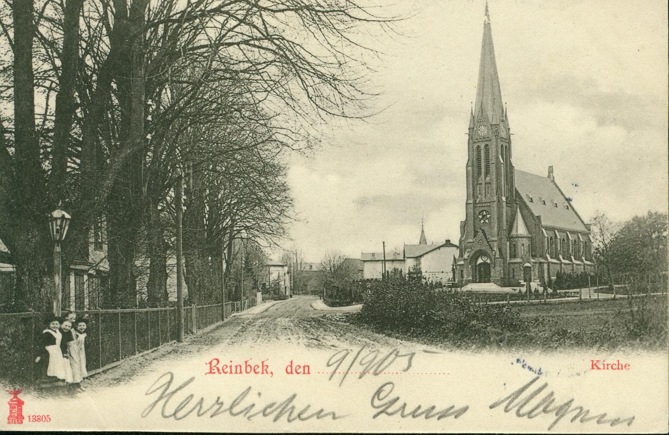 Reinbek Kirche um 1900